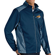 Antigua Men's Montana State Bobcats Blue Revolve Full-Zip Jacket