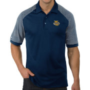 Antigua Men's Marquette Golden Eagles Blue Engage Performance Polo