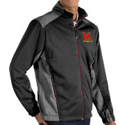 Antigua Men's Maryland Terrapins Revolve Full-Zip Black Jacket