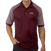 Antigua Men's Mississippi State Bulldogs Maroon Engage Performance Polo