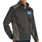 Antigua Men's North Carolina Tar Heels Grey Revolve Full-Zip Jacket