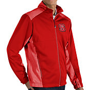 Antigua Men's NC State Wolfpack Red Revolve Full-Zip Jacket