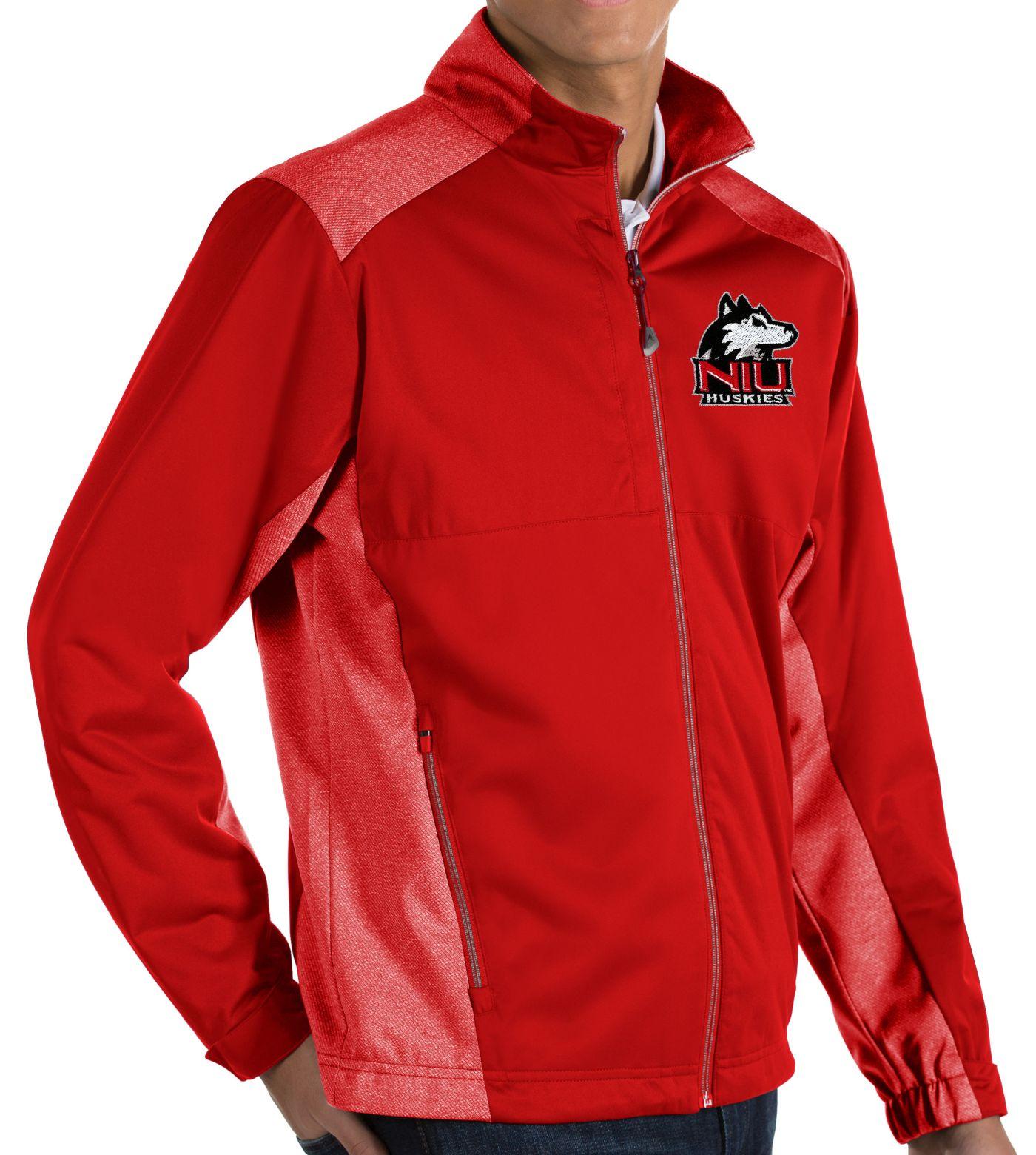 Antigua Men's Northern Illinois Huskies Cardinal Revolve Full-Zip Jacket