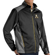 Antigua Men's Appalachian State Mountaineers Revolve Full-Zip Black Jacket