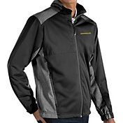 Antigua Men's Oregon Ducks Revolve Full-Zip Black Jacket