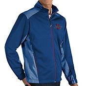 Antigua Men's Tulsa Golden Hurricane Blue Revolve Full-Zip Jacket