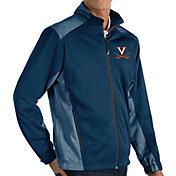Antigua Men's Virginia Cavaliers Blue Revolve Full-Zip Jacket