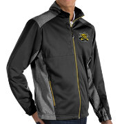 Antigua Men's Wichita State Shockers Revolve Full-Zip Black Jacket