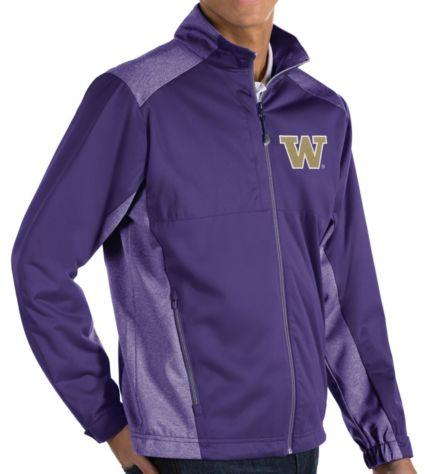Antigua Men's Washington Huskies Purple Revolve Full-Zip Jacket