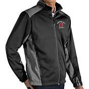 Antigua Men's Washington State Cougars Revolve Full-Zip Black Jacket