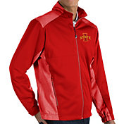 Antigua Men's Iowa State Cyclones Cardinal Revolve Full-Zip Jacket