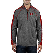Product Image · Antigua Men s San Francisco 49ers Advantage Black Quarter- Zip Pullover 2aea26cda