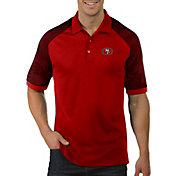 Antigua Men's San Francisco 49ers Engage Red Performance Polo