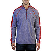 Antigua Men's Buffalo Bills Advantage Royal Quarter-Zip Pullover