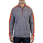 Product Image · Antigua Men s Denver Broncos Advantage Navy Quarter-Zip  Pullover bfdb91dcc