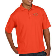 Antigua Men's Chicago Bears Pique Xtra-Lite Performance Orange Polo