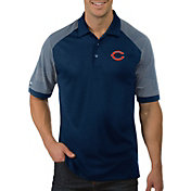 Antigua Men's Chicago Bears Engage Navy Performance Polo