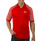 Antigua Men's Kansas City Chiefs Engage Red Performance Polo