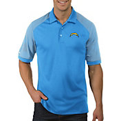 Antigua Men's Los Angeles Chargers Engage Blue Performance Polo