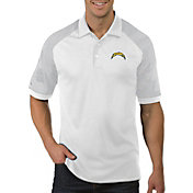 Antigua Men's Los Angeles Chargers Engage White Performance Polo