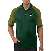 Antigua Men's Green Bay Packers Engage Green Performance Polo