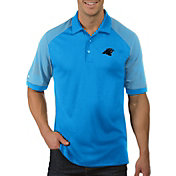 Antigua Men's Carolina Panthers Engage Blue Performance Polo