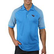 Antigua Men's Tennessee Titans Engage Blue Performance Polo