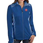 Antigua Women's Chicago Cubs Revolve Royal Full-Zip Jacket
