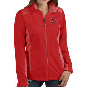 Antigua Women's St. Louis Cardinals Revolve Red Full-Zip Jacket