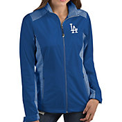 Antigua Women's Los Angeles Dodgers Revolve Royal Full-Zip Jacket