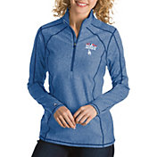 Antigua Women's 2018 World Series Los Angeles Dodgers Royal Tempo Quarter-Zip Pullover