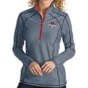 Antigua Women's 2018 World Series Champions Boston Red Sox Navy Tempo Quarter-Zip Pullover