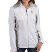 Antigua Women's Houston Astros Revolve White Full-Zip Jacket