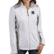 Antigua Women's New York Yankees Revolve White Full-Zip Jacket