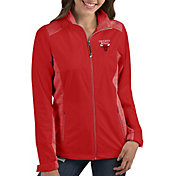 Antigua Women's Chicago Bulls Revolve Full-Zip Jacket