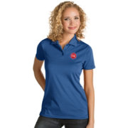 Antigua Women's Detroit Pistons Xtra-Lite Royal Quest Performance Polo