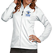 Antigua Women's 2018 NBA Champions Golden State Warriors White Golf Jacket