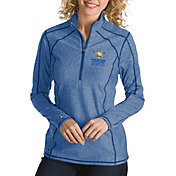 Antigua Women's 2018 NBA Champions Golden State Warriors Tempo Royal Quarter-Zip Pullover