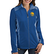 Antigua Women's Golden State Warriors Revolve Full-Zip Jacket