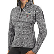 Antigua Women's 2018 Capital One Orange Bowl Bound Alabama Crimson Tide Grey Fortune Pullover Jacket