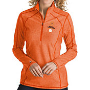 Antigua Women's 2018-19 National Championship Bound Clemson Tigers Orange Tempo Half-Zip Pullover
