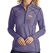 Antigua Women's 2018-19 National Championship Bound Clemson Tigers Regalia Tempo Half-Zip Pullover