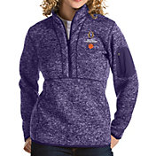 Antigua Women's 2018-19 National Championship Bound Clemson Tigers Regalia Fortune Pullover Jacket