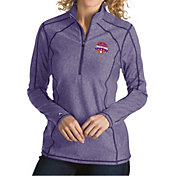 Antigua Women's 2018 National Champions Clemson Tigers Regalia Tempo Half-Zip Pullover