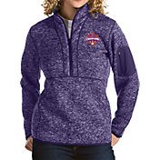 Antigua Women's 2018 National Champions Clemson Tigers Regalia Fortune Pullover Jacket