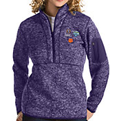 Antigua Women's 2018 Goodyear Cotton Bowl Bound Clemson Tigers Regalia Fortune Pullover Jacket