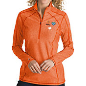 Antigua Women's 2018 Goodyear Cotton Bowl Bound Clemson Tigers Orange Tempo Half-Zip Pullover