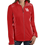 Antigua Women's Houston Cougars Red Revolve Full-Zip Jacket