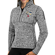 Antigua Women's 2018 Capital One Orange Bowl Bound Oklahoma Sooners Grey Fortune Pullover Jacket