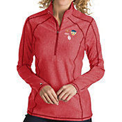 Antigua Women's 2018 Capital One Orange Bowl Bound Oklahoma Sooners Crimson Tempo Half-Zip Pullover